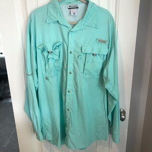 Columbia PFG Bahama long sleeve vented shirt XLT